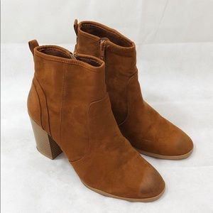 Nordstrom suede ankle booties